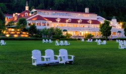 Mission Point Exterior hotel adirondack chairs
